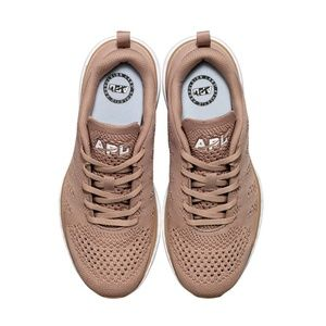 APL women's rose gold sneakers - never worn & NIB